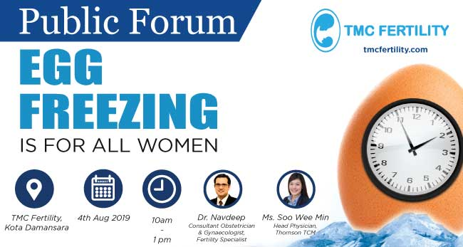 Egg Freezing Forum – 4th August 2019